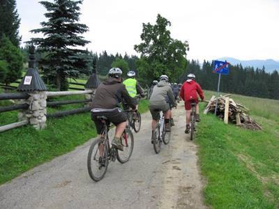 bike trip in Zakopane