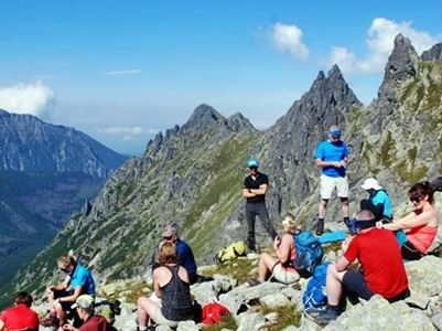 hiking in Tatra National Park