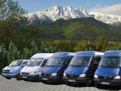 vans and minibuses