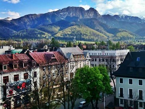 Zakopane and Mount Giewont
