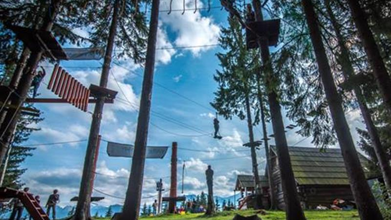 adventure park in Zakopane