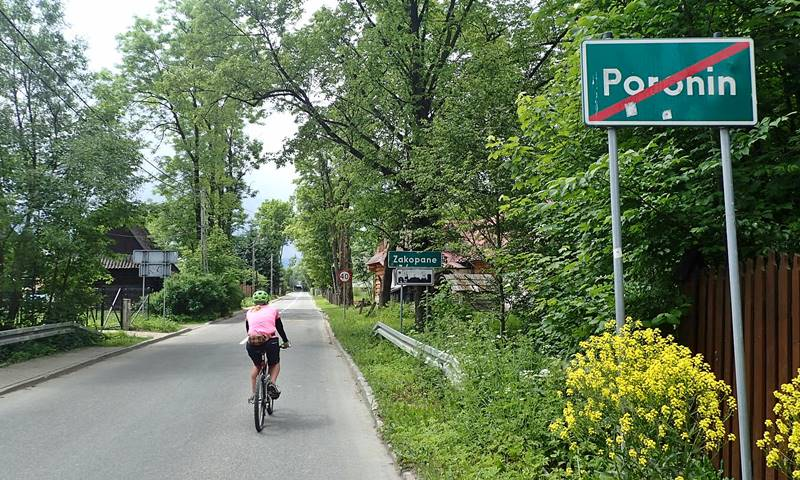 cycling in Zakopane