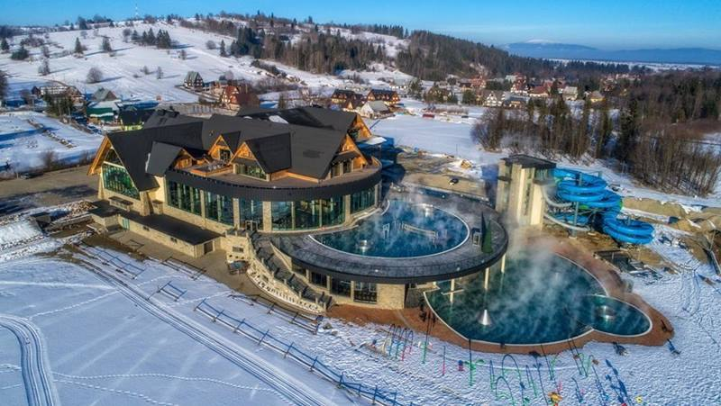 Chocholowskie thermal baths and pools