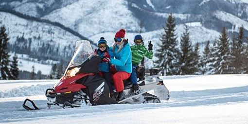Zakopane snowmobile tour