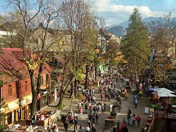 zakopane in autumn